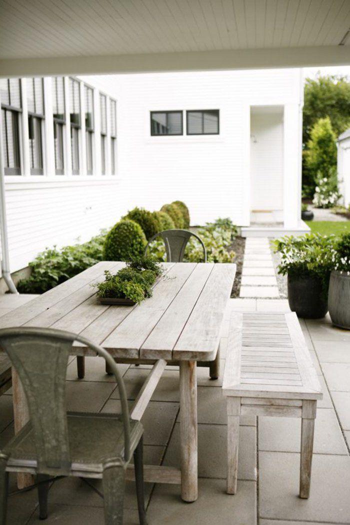 Deko Terrasse Massivholz Mobel | Terrasse Und Balkon | Pinterest ... Ideen Mobel Deko Terrasse Und Balkon