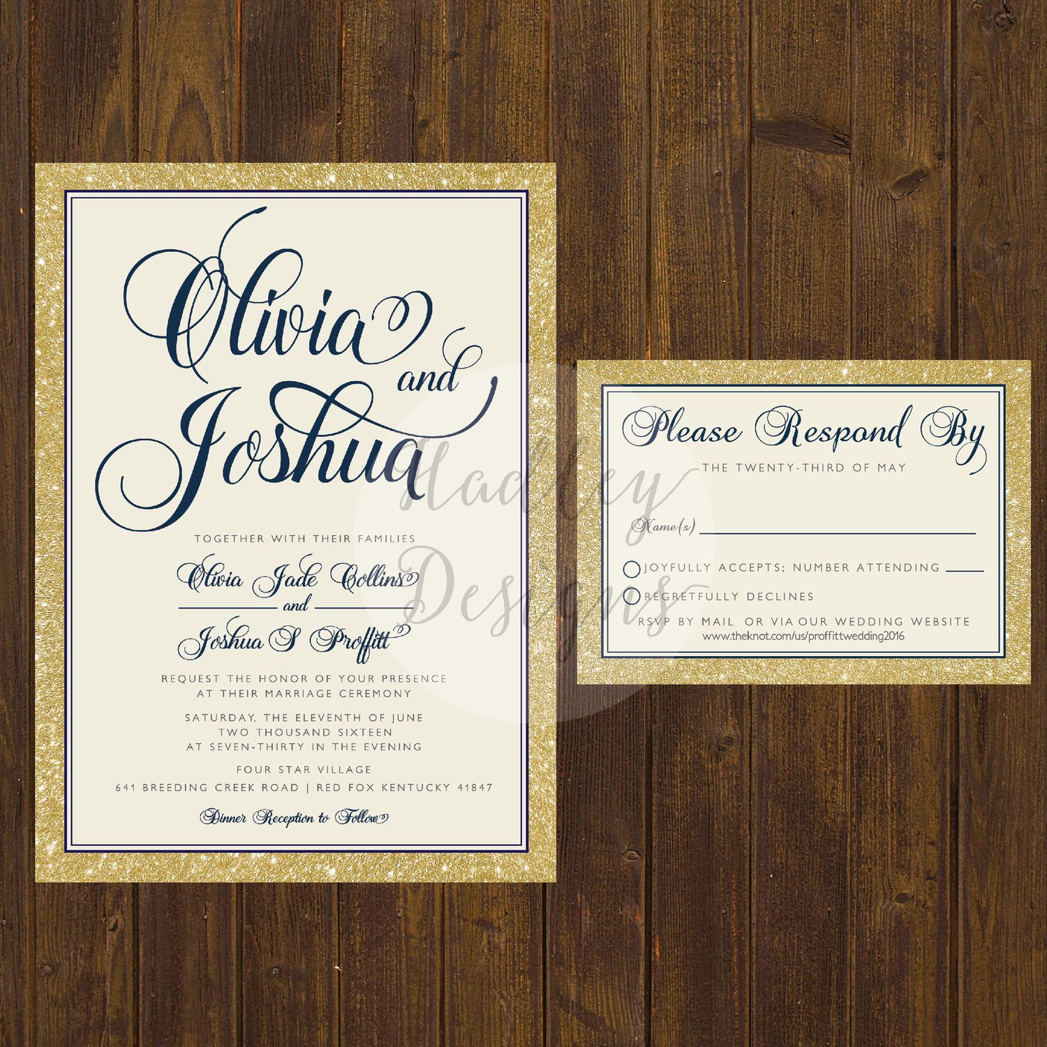 Elegant Wedding Invitations, Classic Wedding Invitations, Simple ...