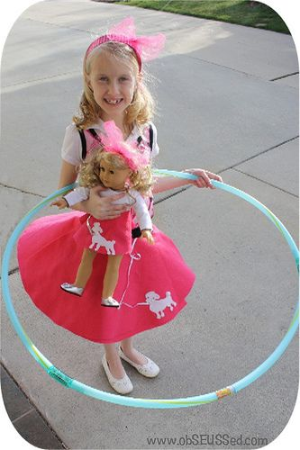 Cute Ideas Including This No Sew Poodle Skirt