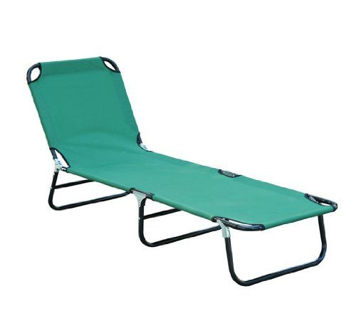 Outdoor Sun Chaise Lounge Recliner Patio Camping Cot Bed Beach Pool Chair  Fold In Home U0026 Garden, Yard, Garden U0026 Outdoor Living, Patio U0026 Garden  Furniture, ...