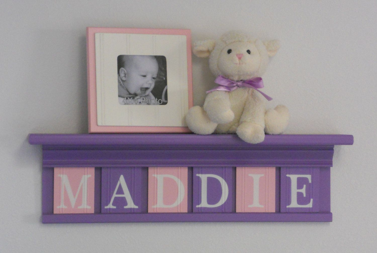 Pink Purple Baby Girl Nursery Room Ideas - For more Awesom Girls ...