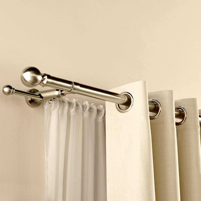 Satin Silver Duo Curtain Pole Dunelm Emily S Bedroom