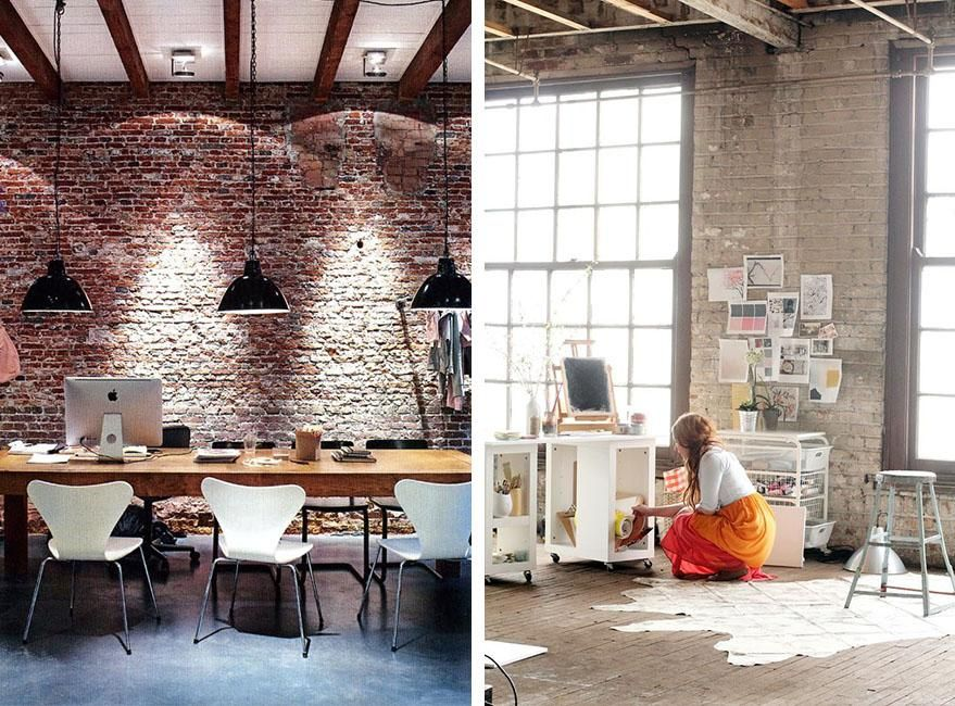 Paredes de ladrillo visto para revestir interiores acabados pinterest living room room y home - Ladrillo visto interior ...