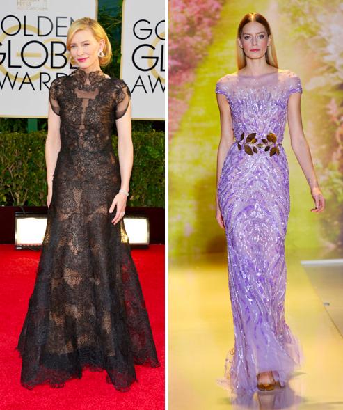 Angie y Pino sienten que Cate Blanchett y este vestido Zuhair Murad fueron hechos el uno para el otro.
