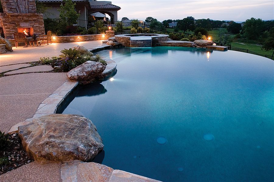 Resort Living Inspiration Custom Swimming Pools & Spa Sacramento, California (CA) - Geremia Pools