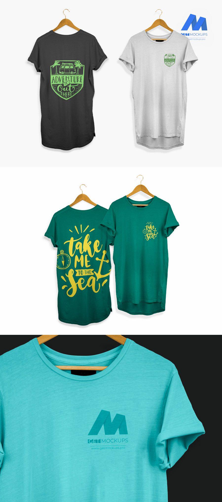 Download Front Back Pocket T Shirt Free Mockup Free Shirts T Shirt Mens Tops