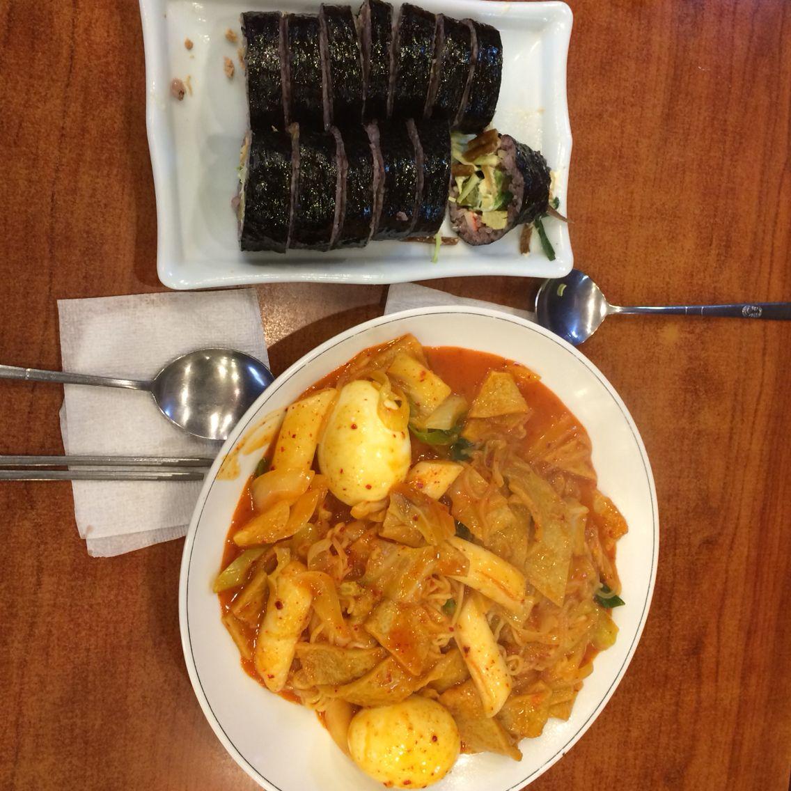 라볶이와 샐러드김밥 수현이네 김밥세상 연남동