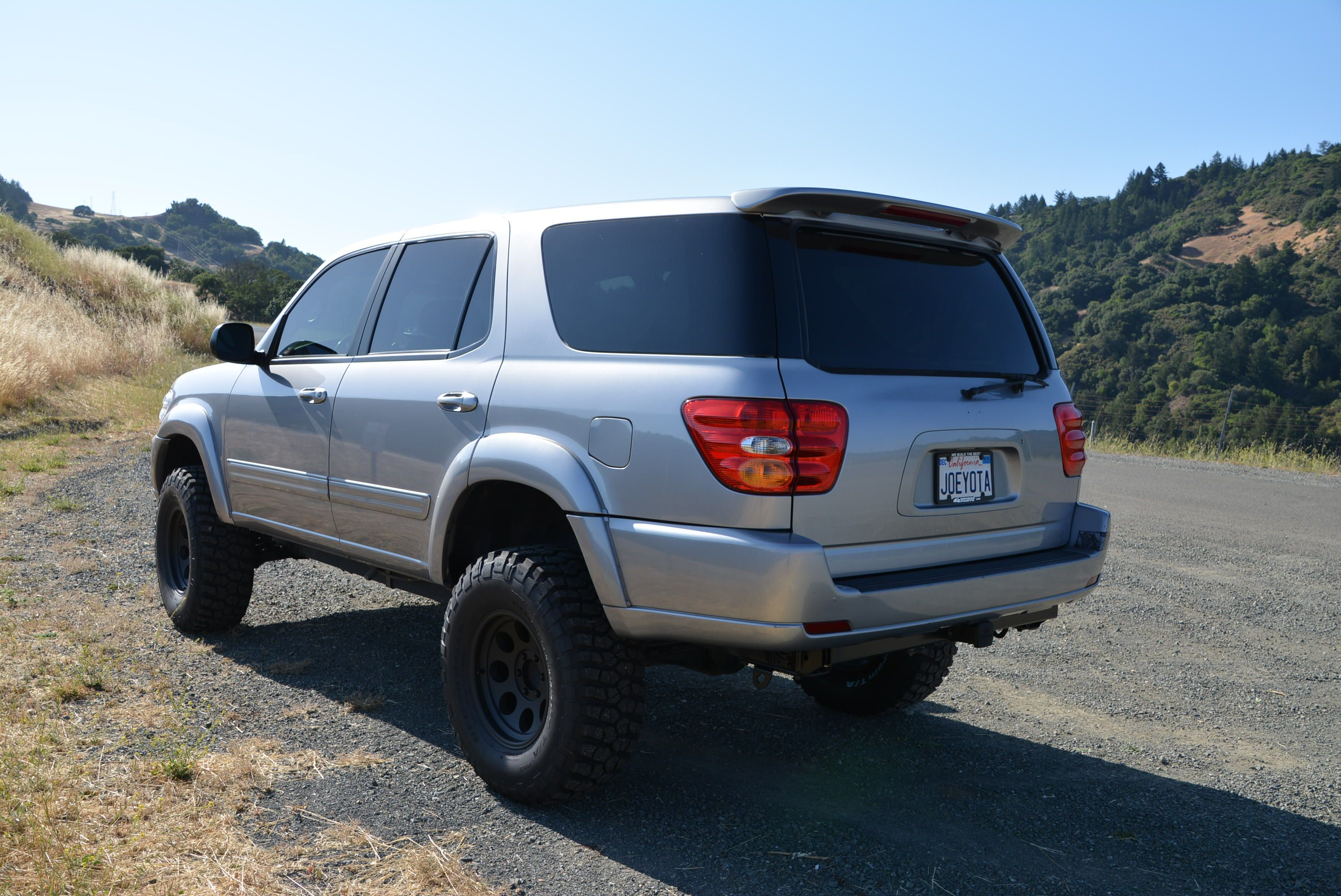 6in Lifted Toyota Sequoia Hood Mountain Santa Rosa Ca.