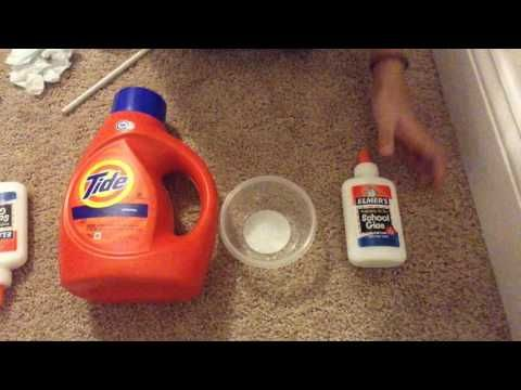 Diy basic tide slime recipe fast easy tutorial only 2 this slime recipe is quick and easy to make and doesnt require borax or any other ingredients i used cup of elmers glue and tide detergent ccuart Gallery