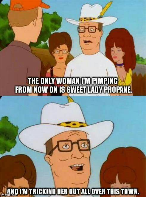 Dank Hank King Of The Hill Funny Tv Quotes Hank Hill Memes