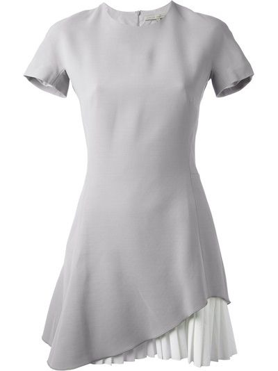 Victoria Beckham - pleated hem dress 6