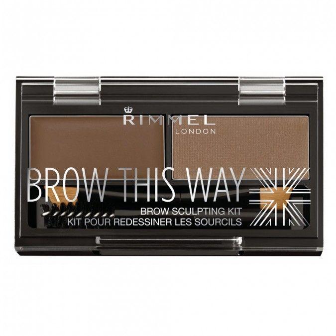 Rimmel Brow This Way Eyebrow Powder Kit 1 Kit Priceline Makeup