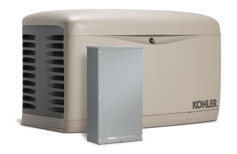 Kohler 20resal 20kw Air Cooled Standby Generator W 200 Amp