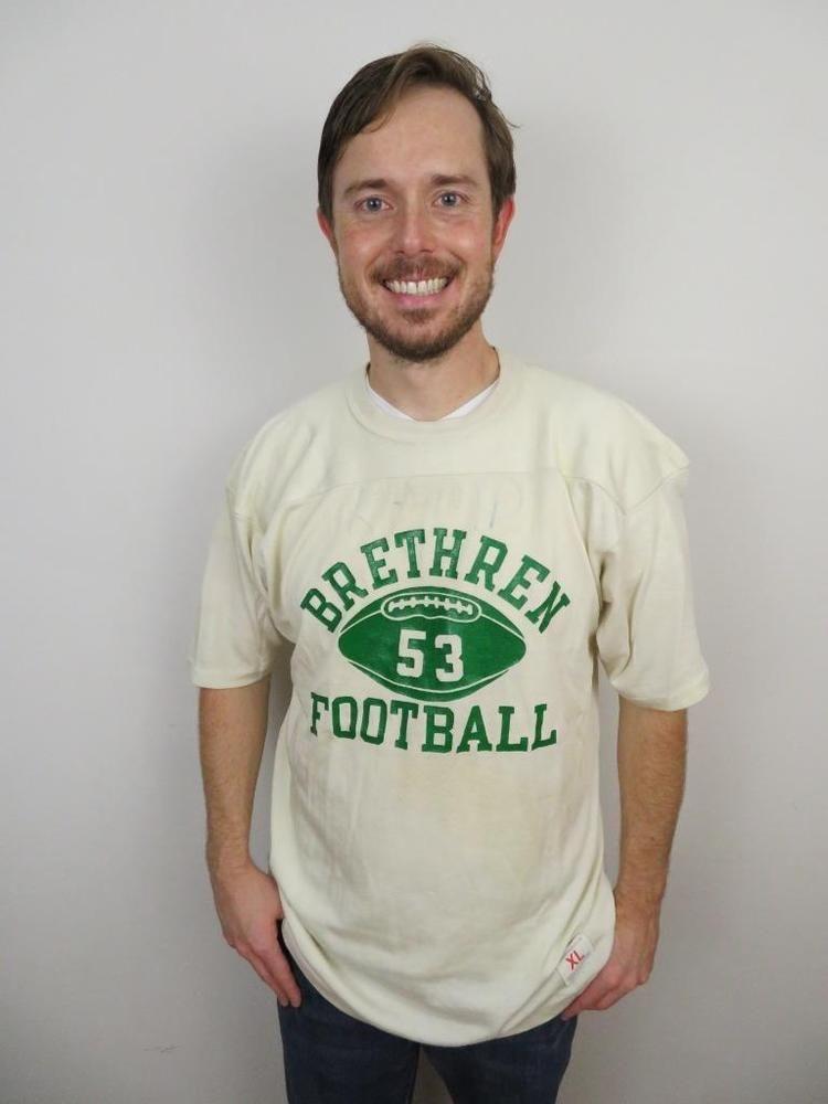 3c54fb3a830 True Vintage 60s 70s Champion Brethren Football Shirt Mens XL Jersey High  School #Champion #GraphicTee