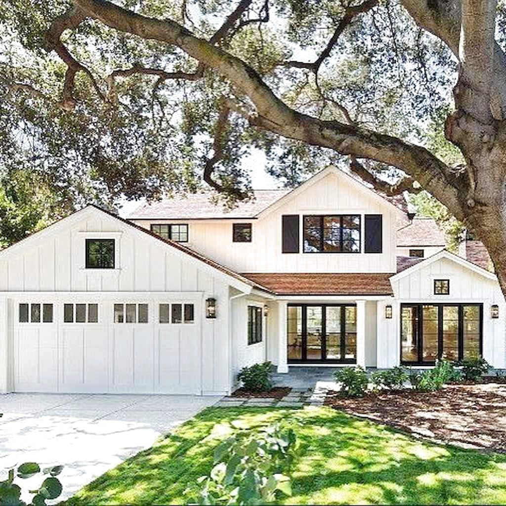 70s Home Exterior Remodel: 70 Amazing Modern Farmhouse Exterior Design Ideas