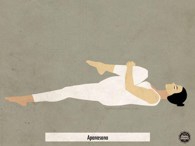 Apanasana   #Yoga #Meditación