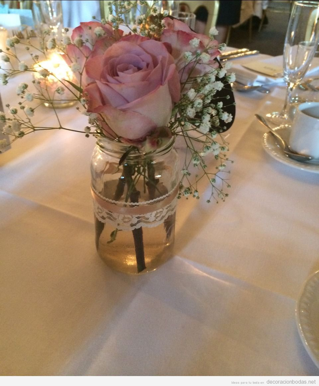 Centro mesa boda barato y diy flores mesas de boda for Centros de mesa para salon