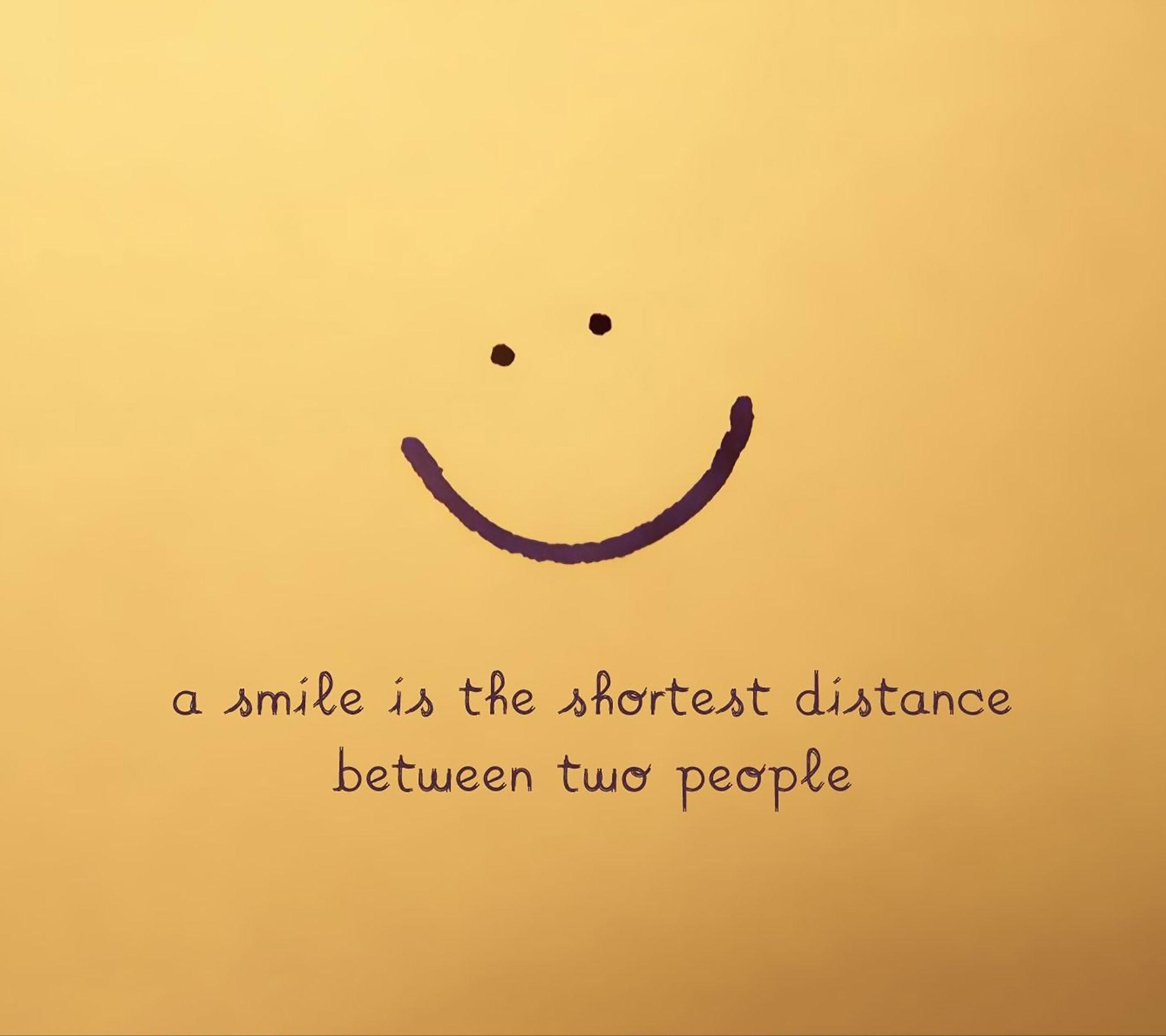 Always Smile Smile Word Positive Life Motivational Wallpaper