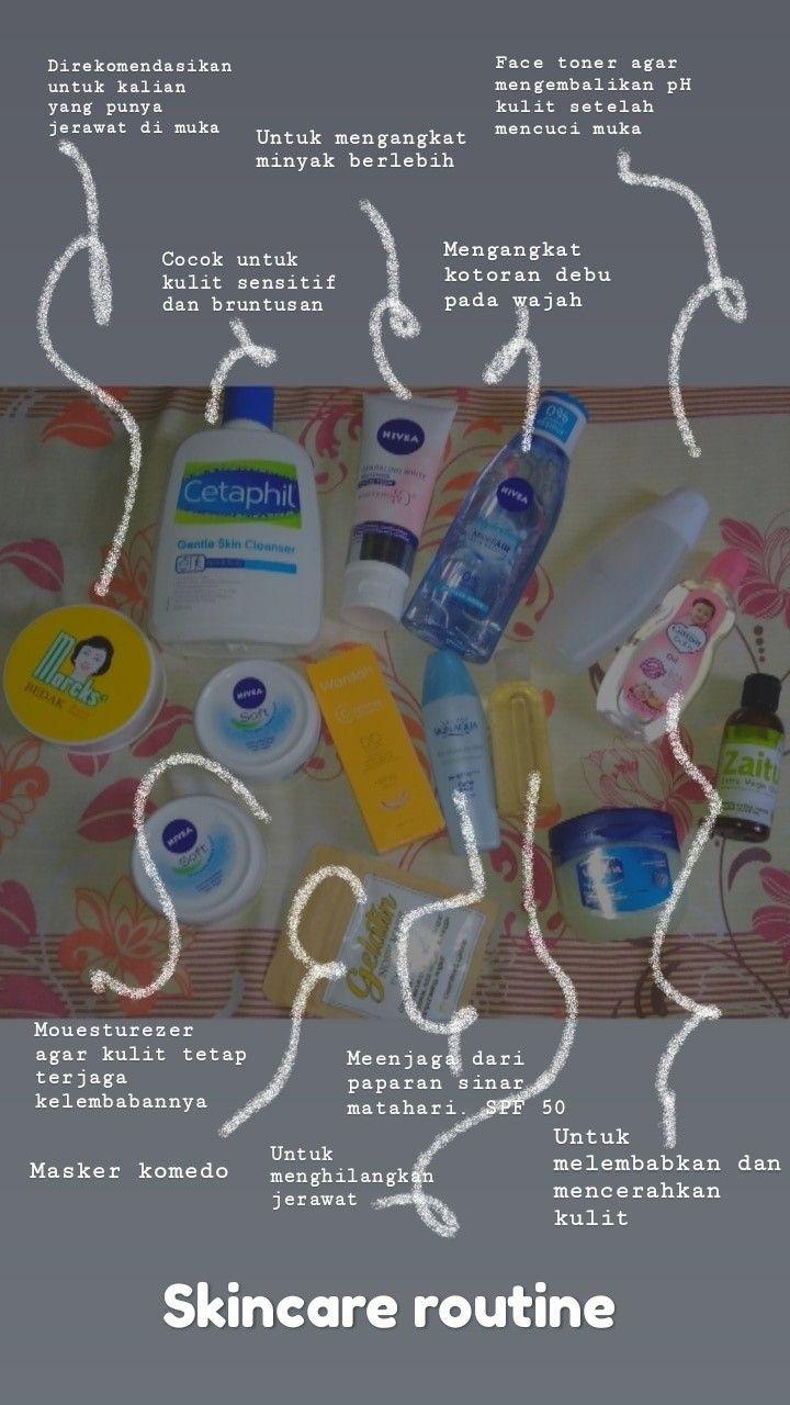 Skin Care Rutin Pagi Hari Untuk Kulit Berminyak Dan Berjerawat