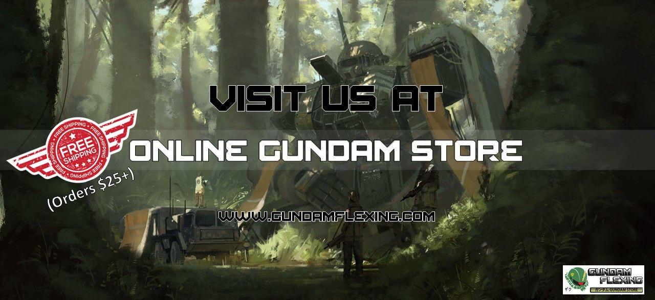 looking for an online gundam store or an online gundam shop look