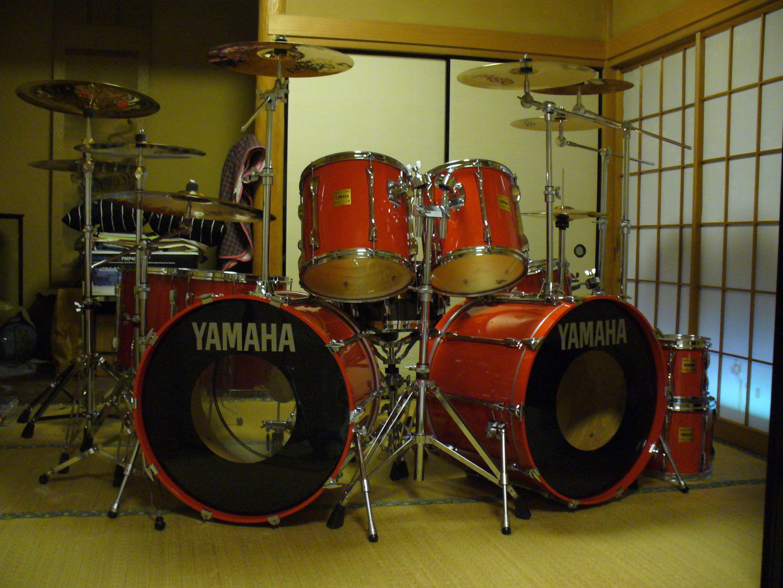 This is my drum set(set-No.3) YAMAHA Rock Tour Custom YD-8000 RTC ...