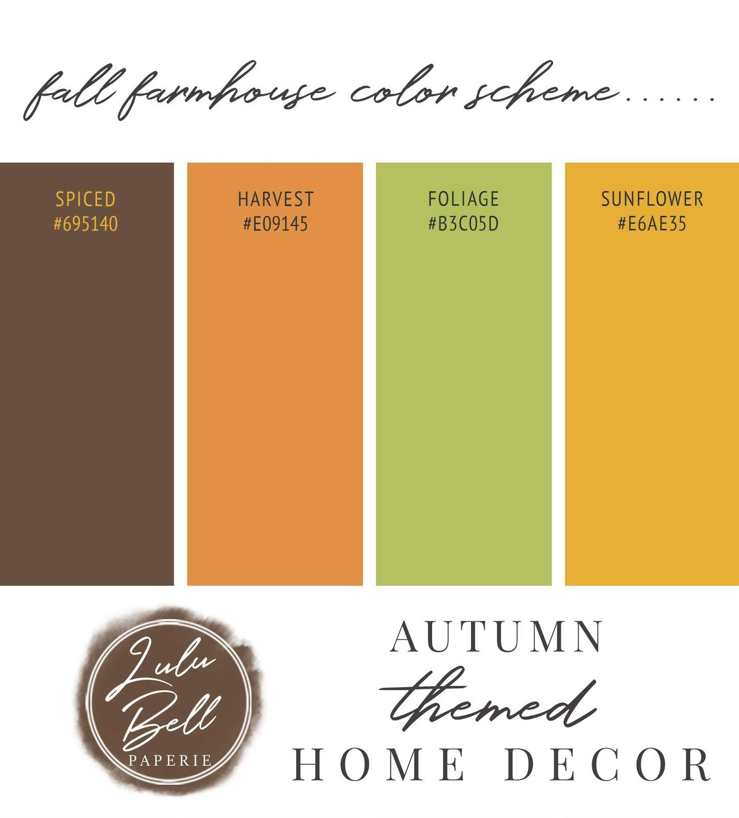 Rustic Autumn Farmhouse Country Home Decorating Ideas and Free ...