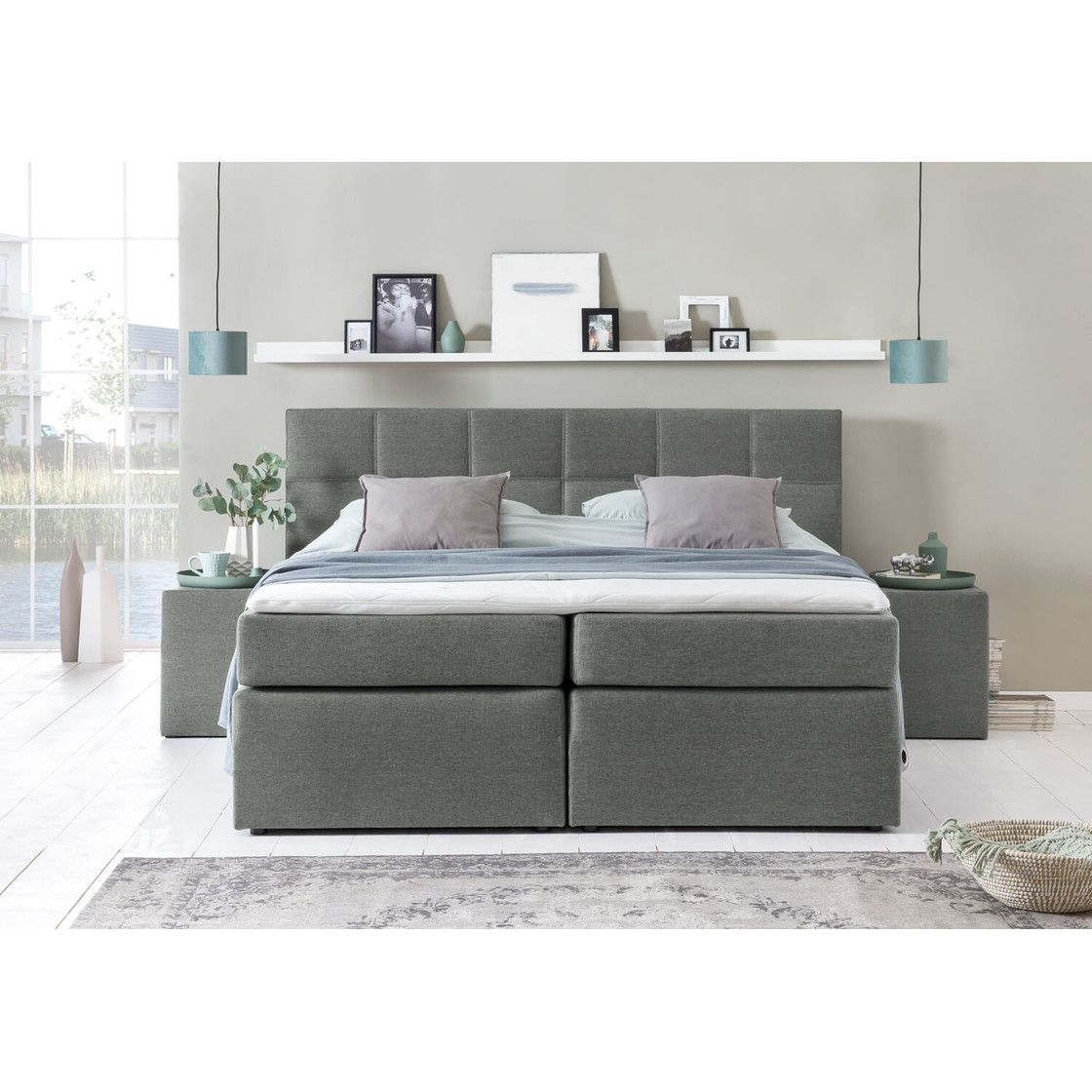 Bestseller Boxspringbett Bea Mit Visco Topper In 2020 Bettfedern Designer Bett Boxspringbett
