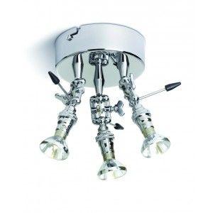 Baionetta a tre luci è una lampada a faretto utilizzabile sia a ...