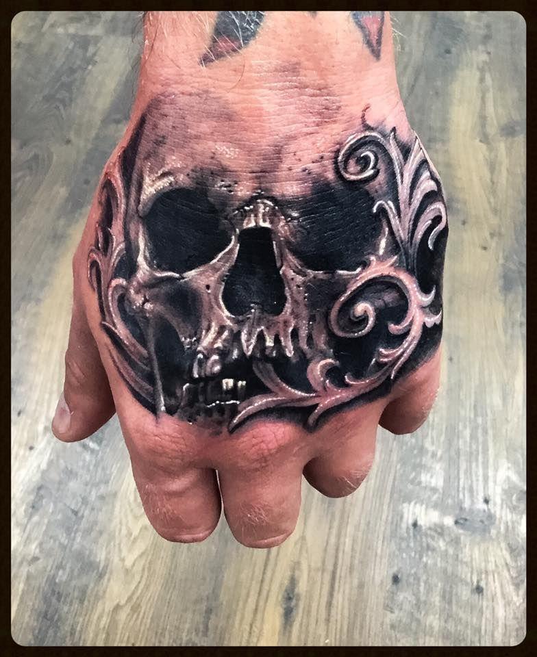 Pin By Jason Harling On Cool Tatts Hand Tattoos For Guys Filigree Tattoo Hand Tattoos