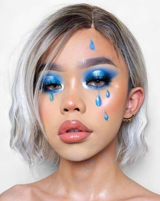 Pin By Tahani Carter On Look Book In 2020 Creative Makeup Looks