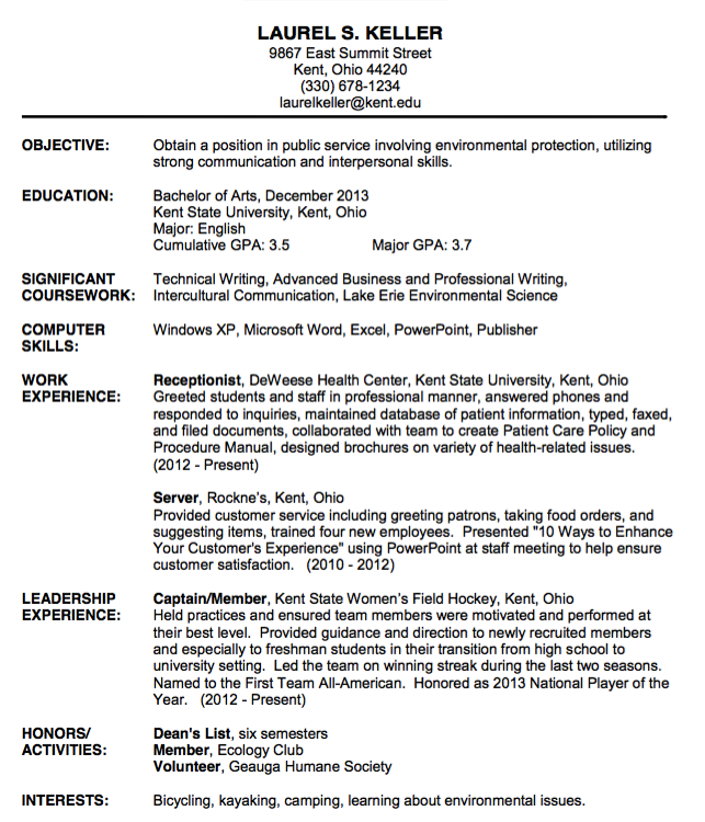 Receptionist Resume  HttpResumesdesignComReceptionistResume