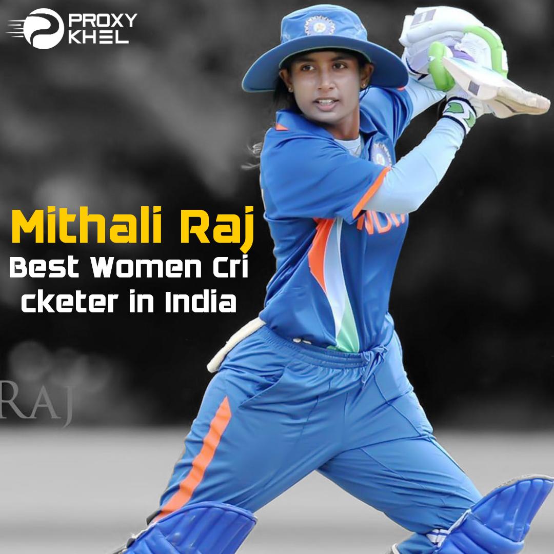 Mithali Raj Best Women Cricketer In India Mithali Raj Cricket Teams Cricket