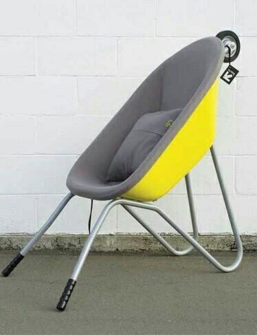 The Baro   A Seat Made From A Wheelbarrow! Good Ideas