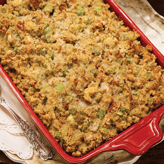 This traditional Cornbread Dressing is an essential dish for Southern holiday meals. Save Recipe Print Traditional Cornbread Dressing #cornbreaddressing