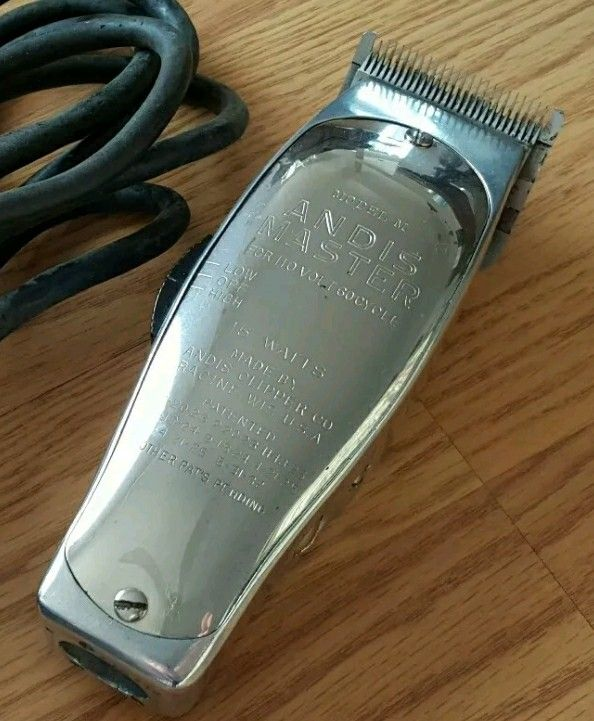 Vintage Andis Master Model M Barber Clippers Hair And Beard