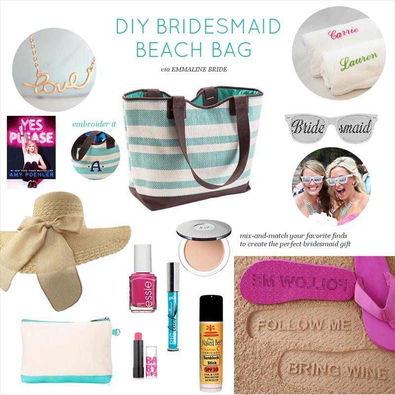Beach Bridesmaid Gift Bag