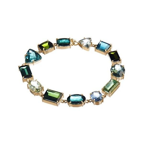 Irene Neuwirth Tourmaline & yellow-gold bracelet (775,505 THB) ❤ liked on Polyvore featuring jewelry, bracelets, green, tourmaline bracelet, yellow gold jewelry, claw bracelet, bracelet jewelry and sparkle jewelry