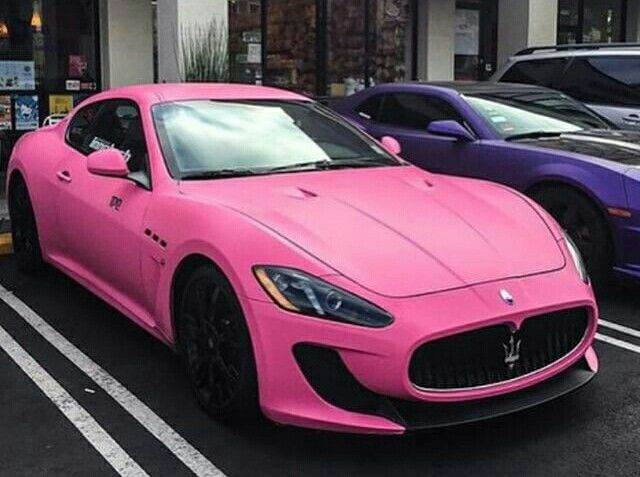 Pink maserati | sexy pink hot rods | Cars, Luxury Cars ...