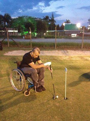 Primeiro torneio de golfe de cadeirantes do Brasil ~ PcD On-Line