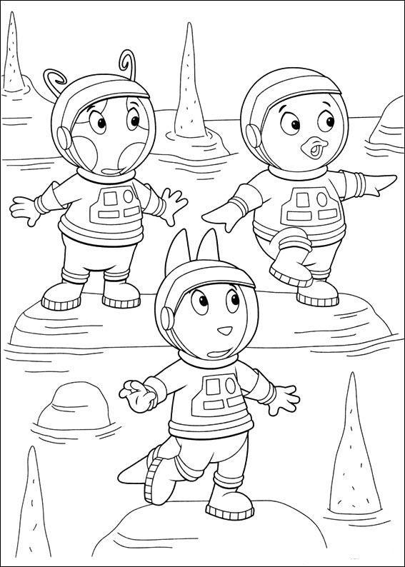Backyardigans Tegninger til Farvelægning 42 | Tegninger ...