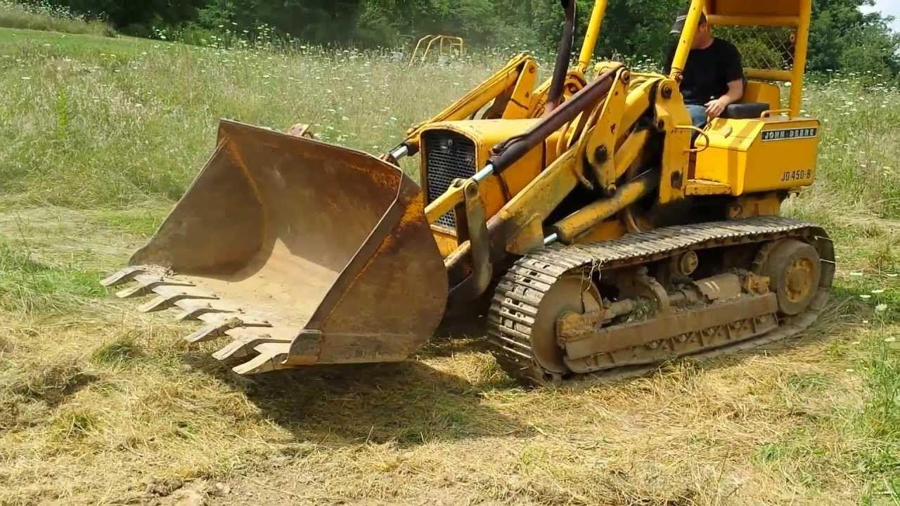 john deere 450b crawler tractor 450b crawler loader service rh pinterest com john deere 450 dozer repair manual john deere 450 dozer manual