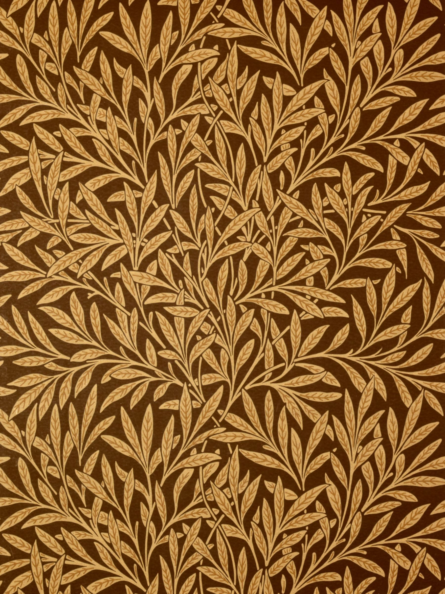 Morris & Co. Willow in 2020 William morris wallpaper
