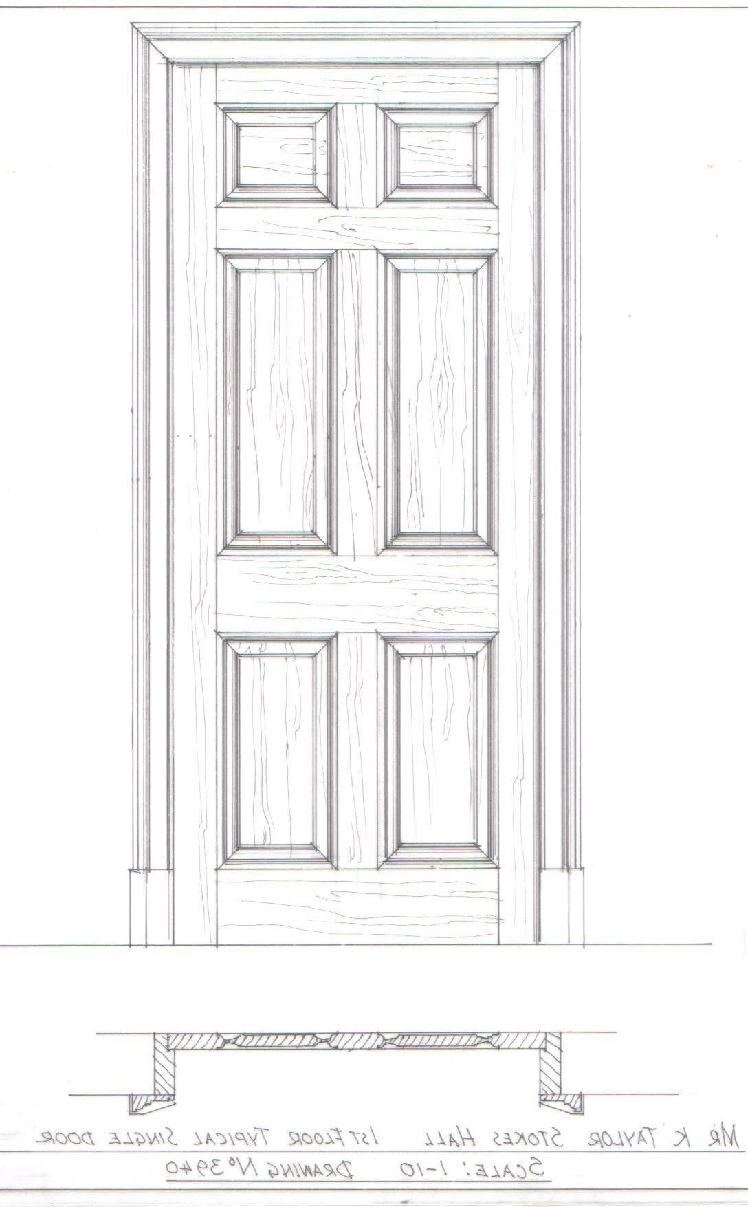 Inside House Drawing: Drawings Of Georgian Doors - Google Search