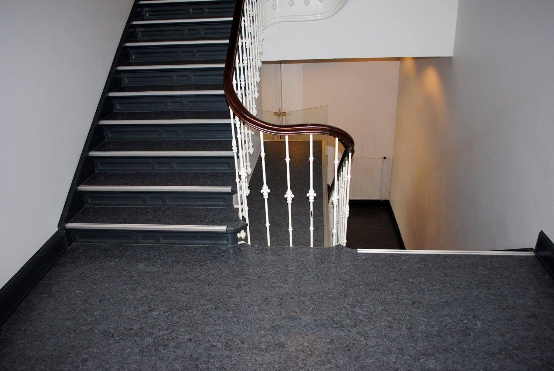 Berühmt Treppenhaus: Linoleum – Bodenbelagsarbeiten.   Bodenbeläge in 2019 KY98
