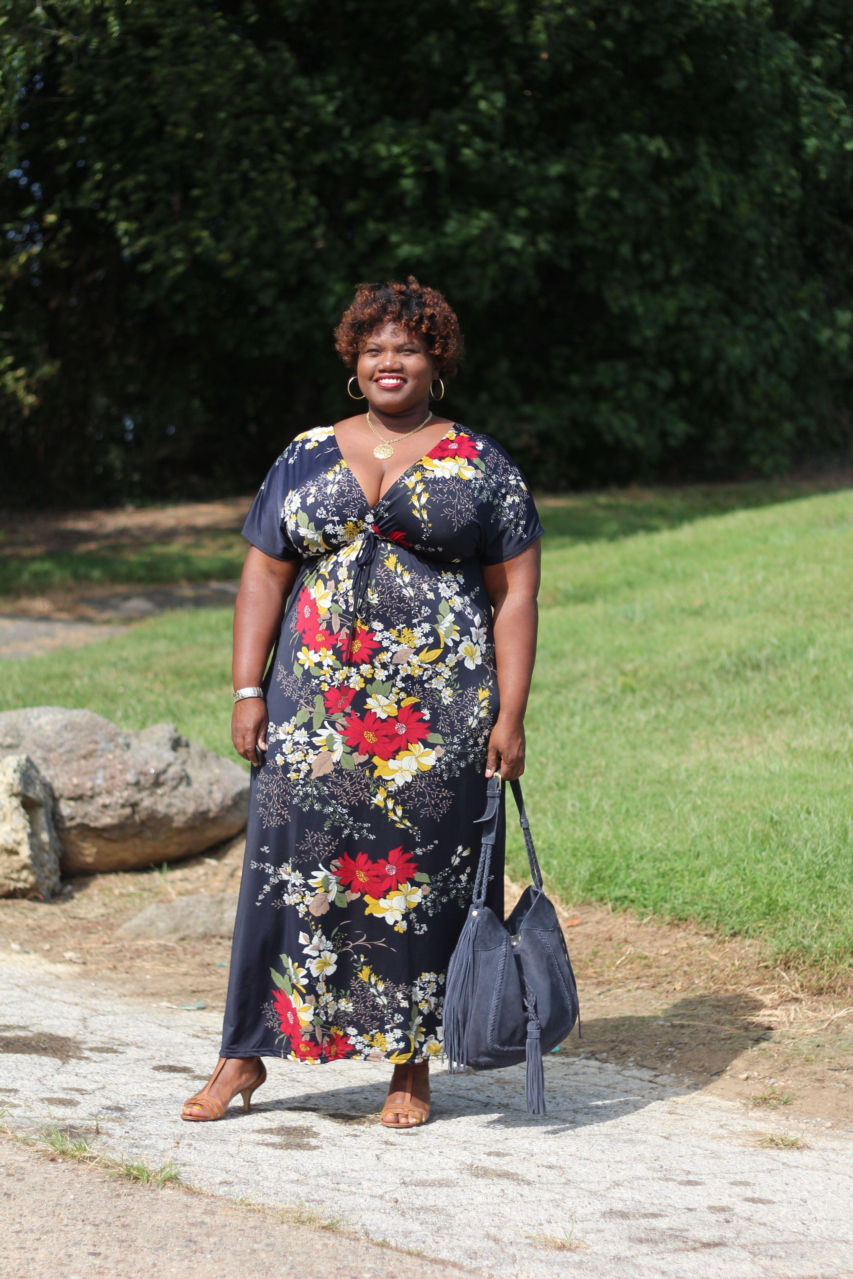 Maxi Dress Kimono Sleeve Maxi Dress Printed Maxi Dress Plus Size