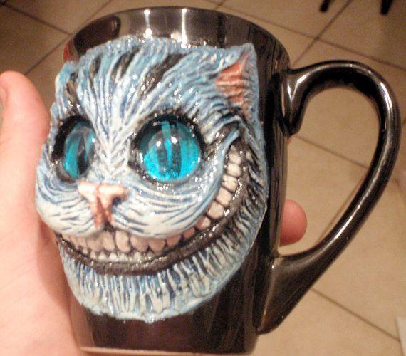 Alice In Wonderland Tim Burton Cheshire Cat Hand by UndeadEd, $50.00