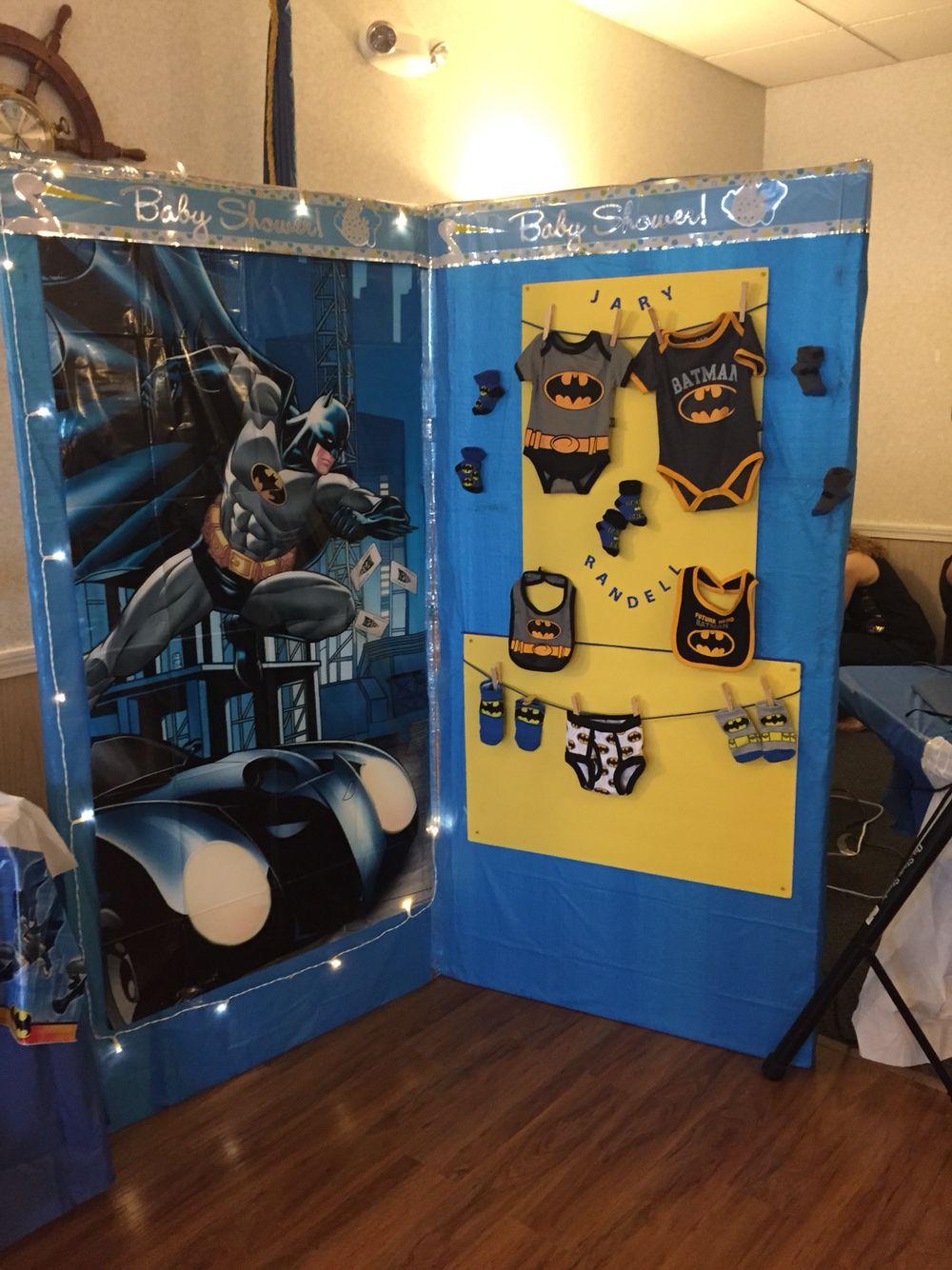Gmail batman theme - Batman Wall Made By My Mother For My Batman Theme Baby Shower
