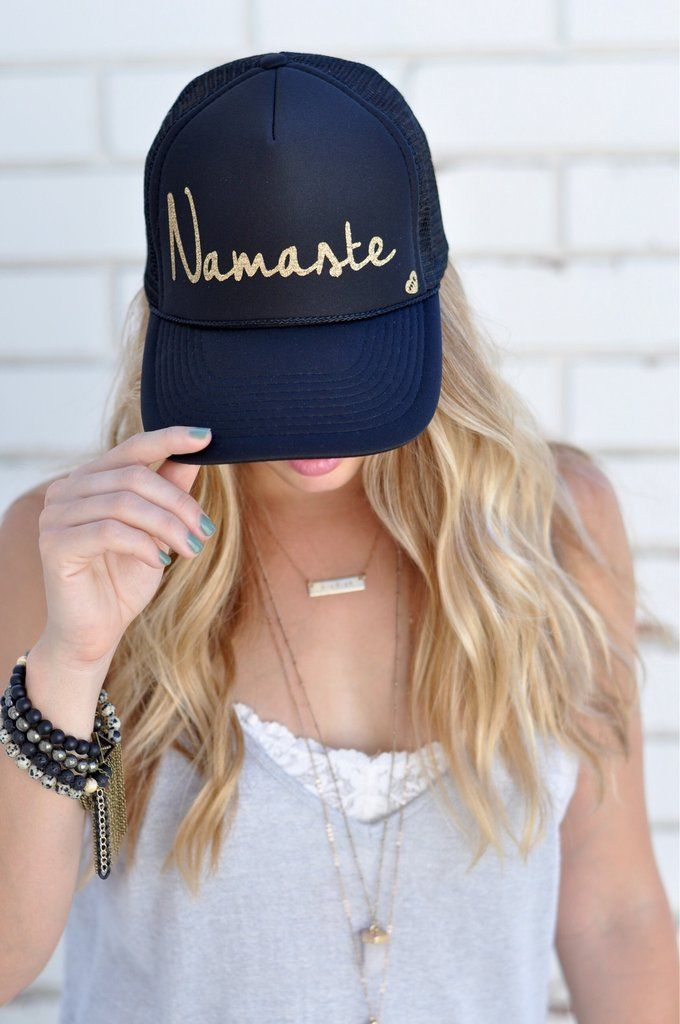 45ee21621 Namaste' by Mother Trucker | what i WISH i was wearing! | Hats, Hat ...
