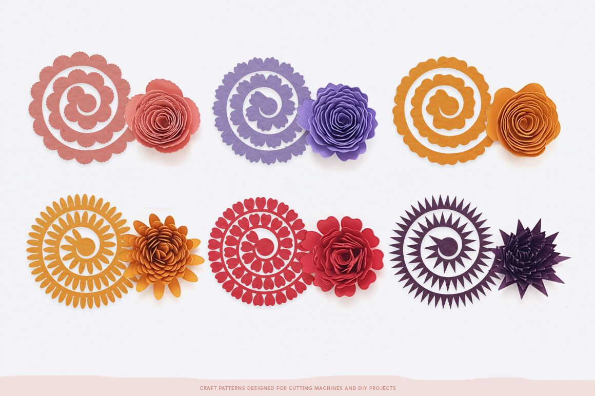 Cricut flower template free svg in 2020 flower template