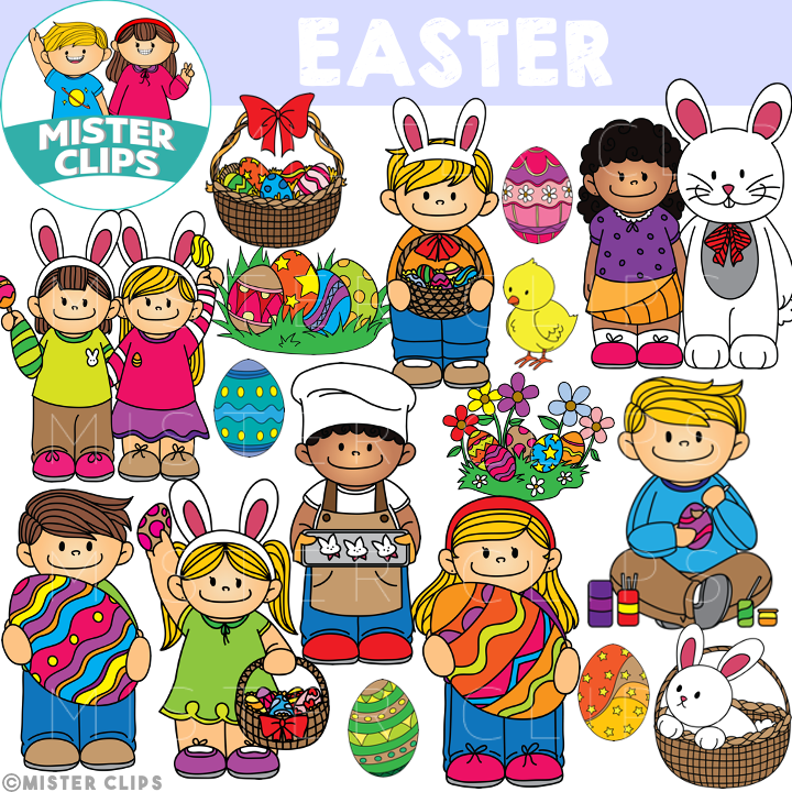 Easter Clipart Misterclips